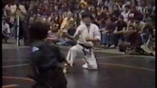 US Oyama Karate Founder Baseball Bat Break