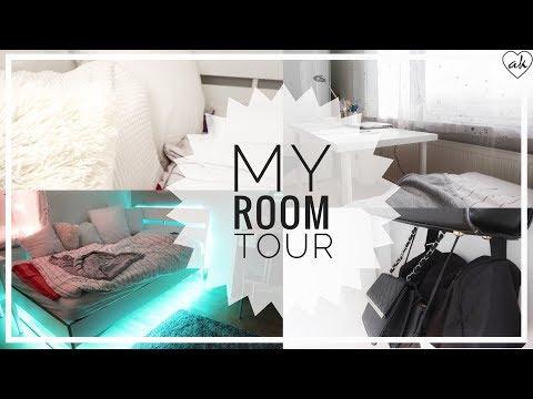 mein Zimmer, simple, clean, weiß   Möble, einrichtung, LED Kette   ♥ANNA KAISER♥