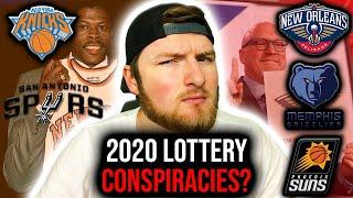 5 Possible 2020 NBA Draft Lottery Conspiracies!
