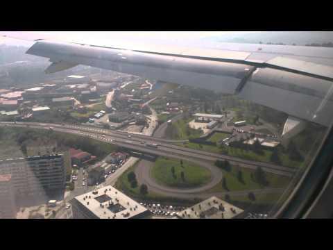 Aterrizaje A320 Vueling Alvedro A Coruña