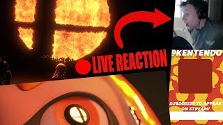 My LIVE Reaction to Smash on Switch! II 2018 March Nintendo Direct