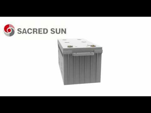 SAJ12-200 solar battery