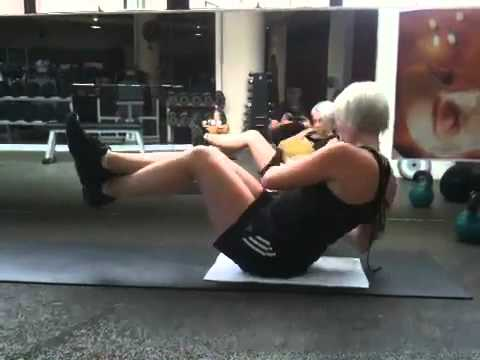 Bodywize Teneriffe Daily Exercise Video - Medicine Ball Twist