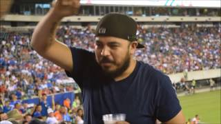 United States vs. El Salvador rowdy fans (Gold Cup, 2017)