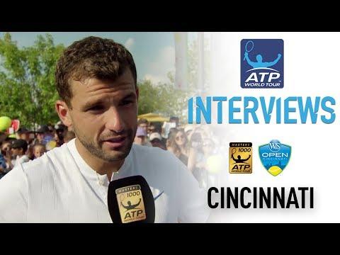 """Better Late Than Never"" Says Dimitrov Cincinnati 2017"