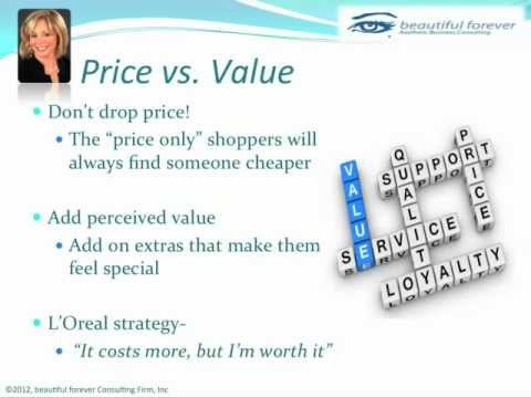 Aesthetic Business - What Women Want - Part 6 - Price vs Value