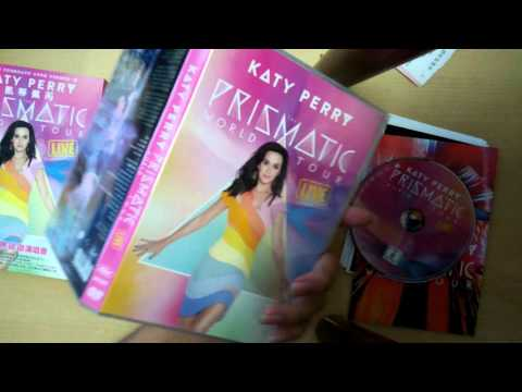 Unboxing Katy Perry Prismatic Tour Live Dvd (taiwan Edition) , Prism Deluxe & Standard Edition