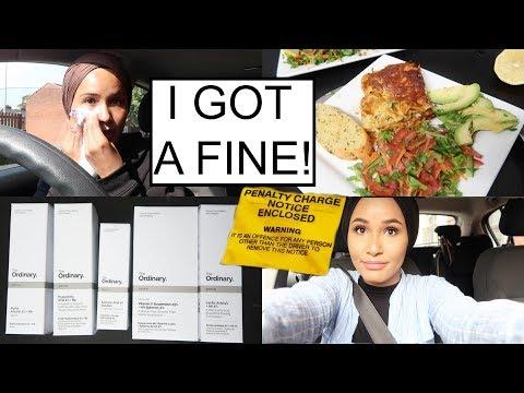 My Bad Skin, Somali Food, Got A Fine & Skincare Haul| WEEKLY VLOG