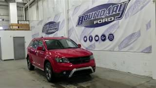 Preowned 2015 Dodge Journey Crossroad W/ AWD, V6, Leather, 7 passenger Overview | Boundary Ford