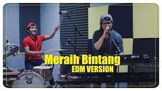 MERAIH BINTANG ⚡️ ( DJ, EDM Version Cover by THE MAXSHOOT) VIA VALLEN