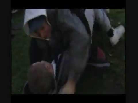 Eastenders - Jay fights Tegs