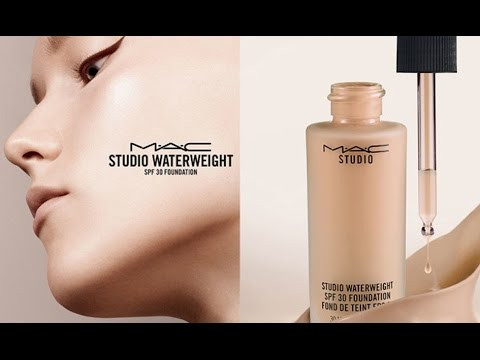 MAC WATERWEIGHT FOUNDATION REVIEW!