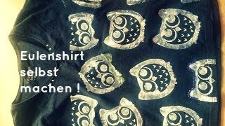 [DIY] Eulen Tshirt / INLOVEWITCOSMETICS