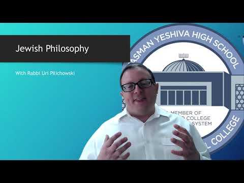 Fasman Yeshiva High School Back to School Night 2021 2022 Jewish Philosophy
