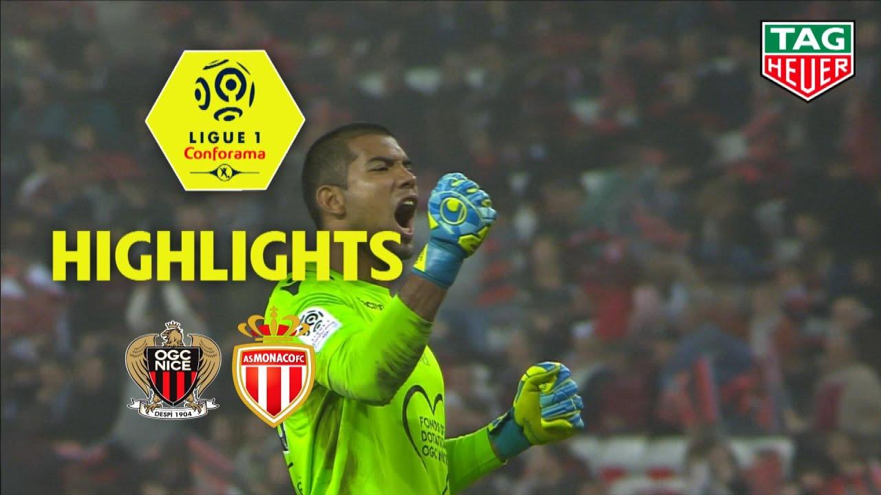 OGC Nice - AS Monaco ( 2-0 ) - Highlights - (OGCN - ASM) / 2018-19