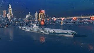 World Of Warships - АВИАВРЫВ В РАНДОМ ПОД ПИВАС =)