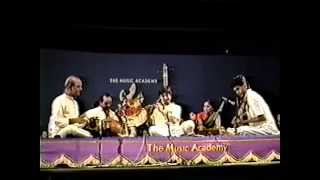 Shashank Subramanyam at Music Academy - jan 01, 1991