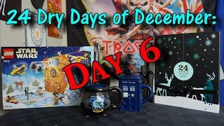 24 Dry Days of December - Day 6 - Forever Nuts  and Building Lego