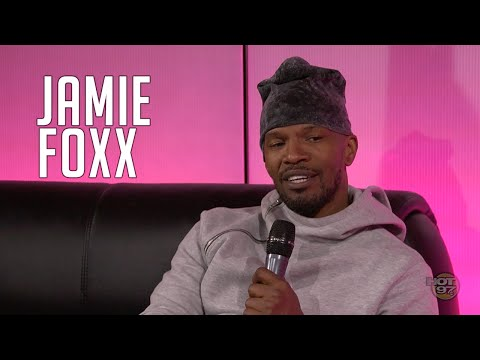 Jamie Foxx Talks Bruce Jenner Joke + Chris Brown's Daughter