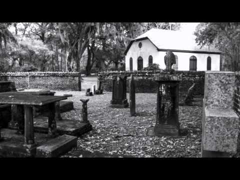Berkeley County, South Carolina Scenes.  Comingtee Plantation and Strawberry Chapel