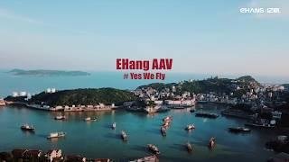 Still think of air taxis as sci-fi? Check out these trial flights | Urban Air Mobility |  EHang