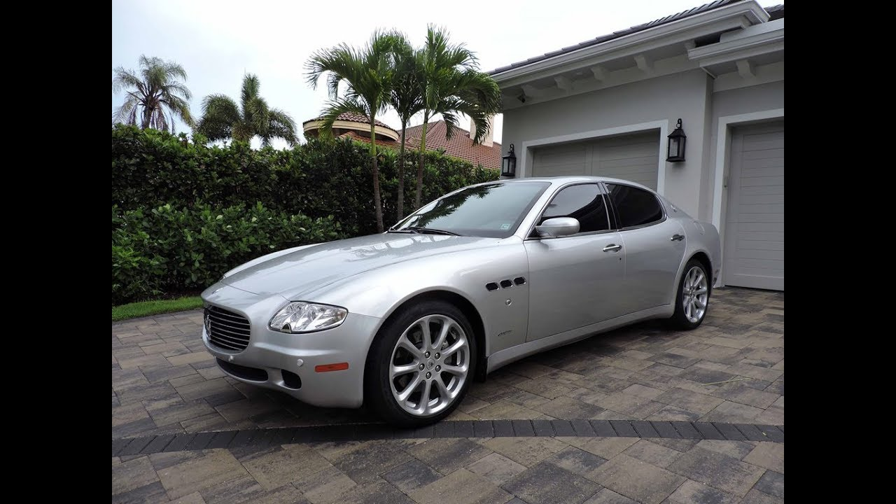 2005 Maserati Quattroporte Executive Gt For Sale By Auto Europa