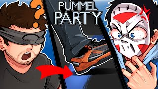 Pummel Party - OHM CROSSED THE LINE!!! (New Mini Games)