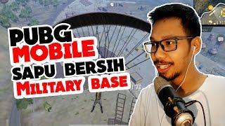 SAPU BERSIH MILITARY BASE - PUBG MOBILE INDONESIA