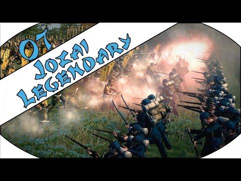 SLOW GOING - Jozai (Legendary) - Total War: Shogun 2 - Fall of the Samurai - Ep.07!