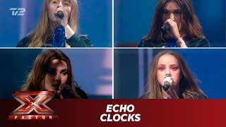 ECHO synger 'Clocks' - Coldplay (Live)   X Factor 2019   TV 2