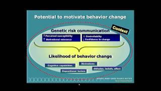 Applications of Genomics to Improve Public Health - Colleen McBride (2014)