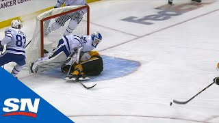 Penguins' Goal Waved Off Vs. Maple Leafs, Pittsburgh Challenges And The Goal Stands