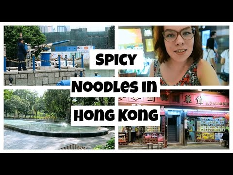 Spicy Noodles in Hong Kong | Day 5