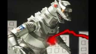 Godzilla vs. Mechagodzilla (Stop Motion Movie)