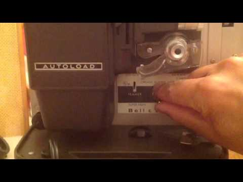 How to use a Bell and Howell 346A Super 8 Projector