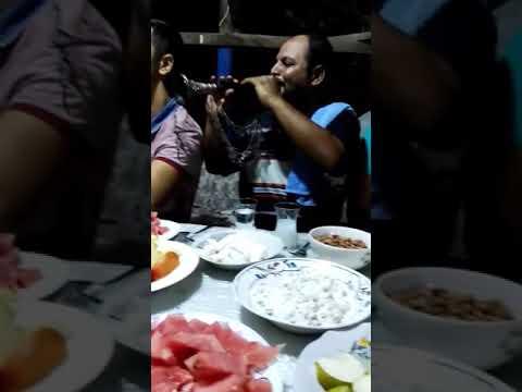 Hudey hudey, Yan karagözlüm... Kirve Doğan Azgınlık Mehmet Çelebi kına.