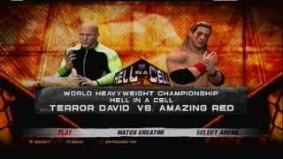 XYZ Hell In A Cell 2013 Matchcard