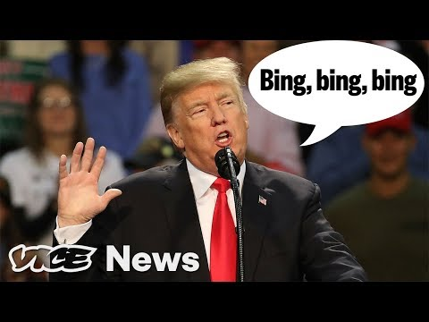 "21 Things That Trump Says Make A ""Bing"" Sound"