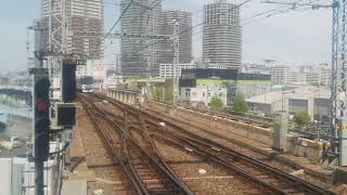 2019.5.6東京メトロ日比谷線13000系南千住駅到着