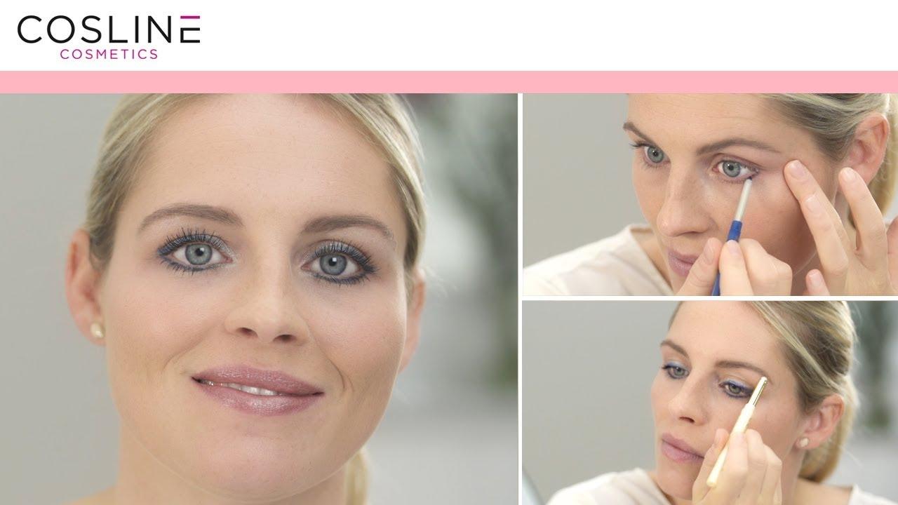 Tages Make Up Für Blaue Augen Youtube