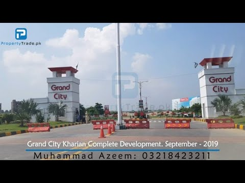 Grand City Kharian Complete Development September-2019 | Property Trade