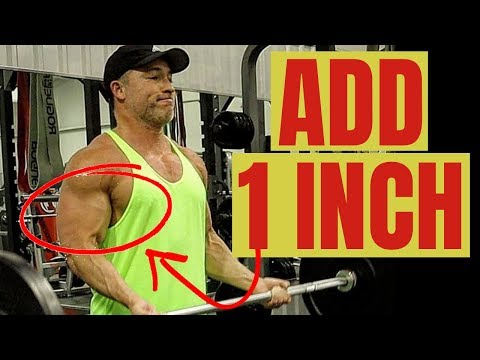 How To Add An Inch To Your Arms! (BICEPS & TRICEPS WORKOUT)