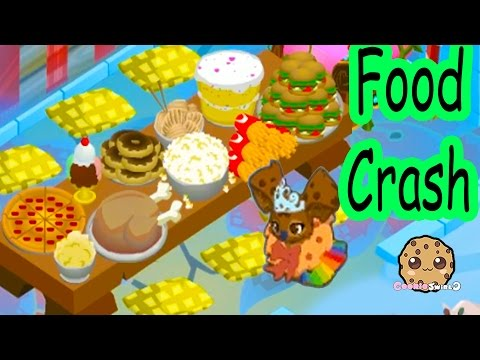 Cookieswirlc Animal Jam Online Game Play with Cookie Fans !!!! Food Crash Dens Video