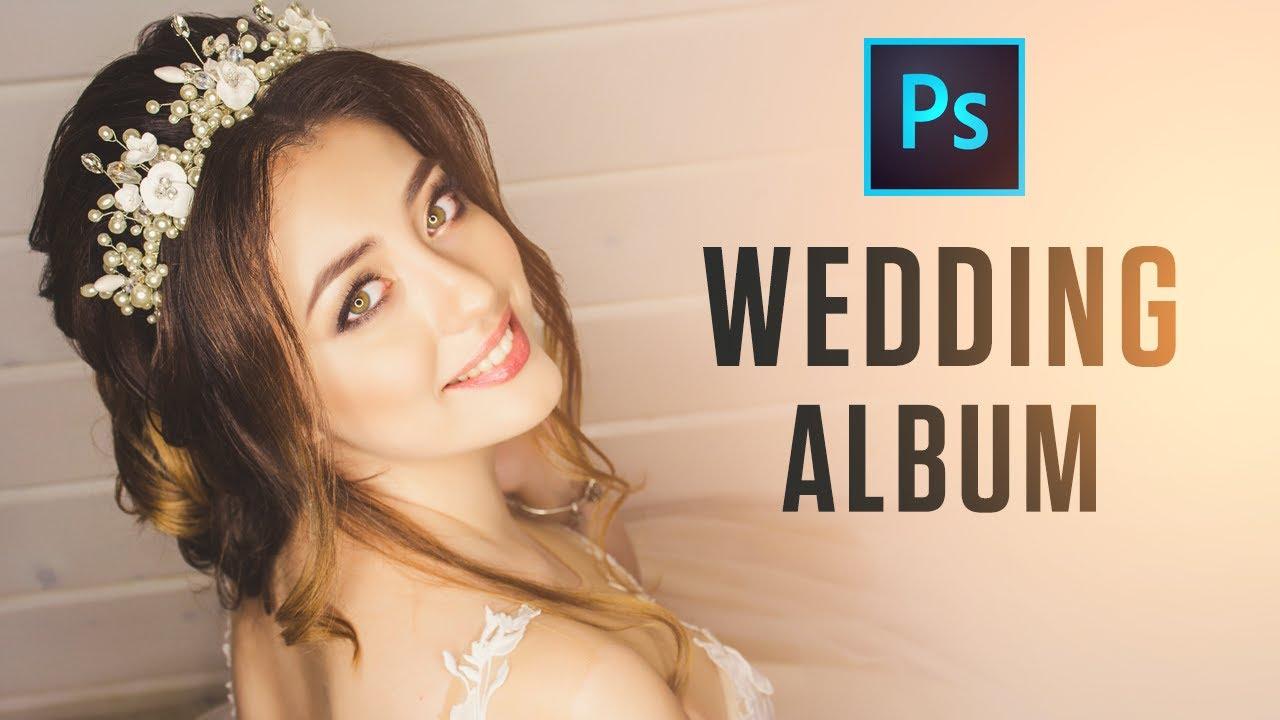 Download How to Design Wedding Album In Photoshop   In-Depth Tutorial   Free Template   PE62