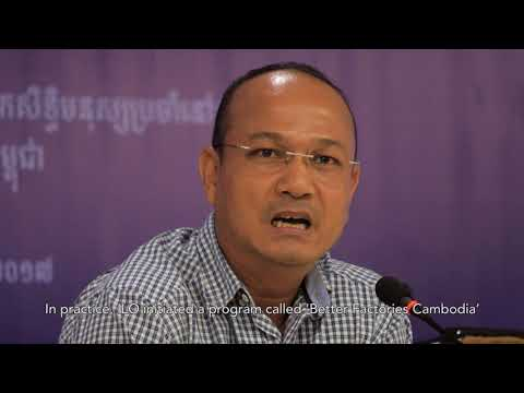 Speech by Mr. Moeun Tola at Public Conference On Human Rights in Cambodia Today