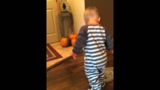 Mean mom scares baby!
