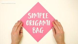Simple Origami Bag