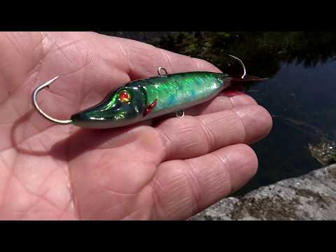 This Tiny Thing Catches Tons Of Fish! Fishing In Canal Locks Wt Garda,  Muscovy Duck & Balance Jig.