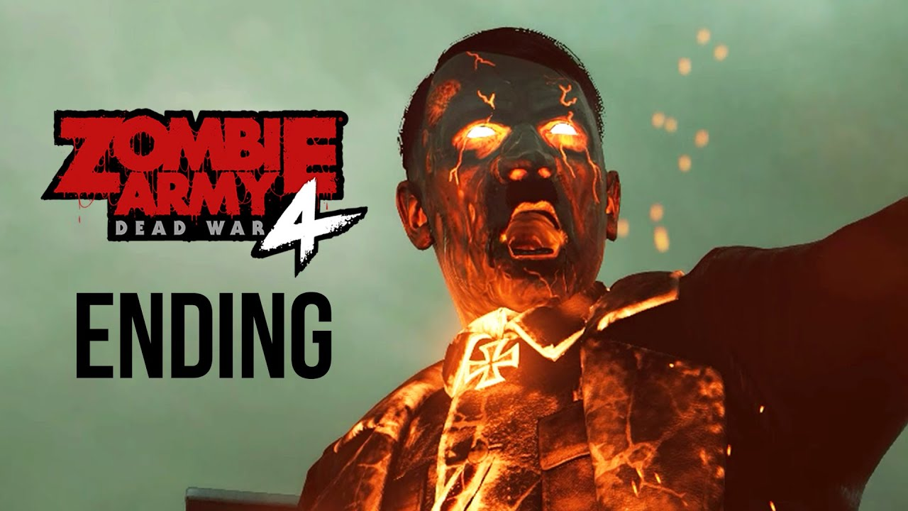 ZOMBIE ARMY 4 DEAD WAR ENDING Gameplay soluce Part 15 - HELL MACHINE (Tous les objets de collection) + vidéo