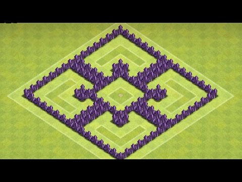 Clash of Clans - Epic Town Hall 6 Base Speed Build ( Trophy/Defense)